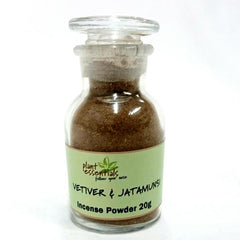 vetiver and jatamunsi incense powder