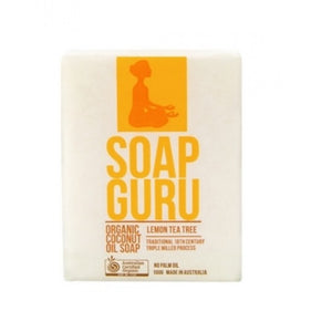 Soap Guru Soap 100g - Lemon Tea Tree Organic Palm Free