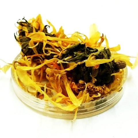 Calendula Flower, Calendula officinalis, Organically grown