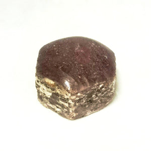 Ruby ~ Polished top Octagonal (each)