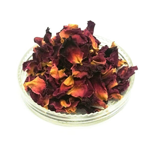 Red Rose Petals, Rosa centifolia, Organically grown