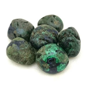 Azurite, Malachite ~ Tumbled stone (each)