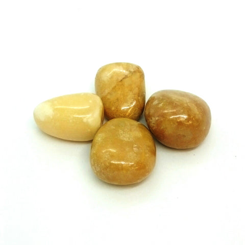 Yellow Jasper ~ Tumbled stone