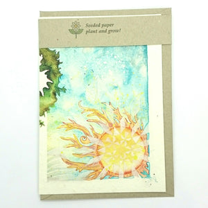 Gift Card ~ Printed on seeded paper