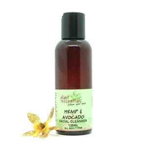 Hemp & Avocado Facial Cleanser 125ml
