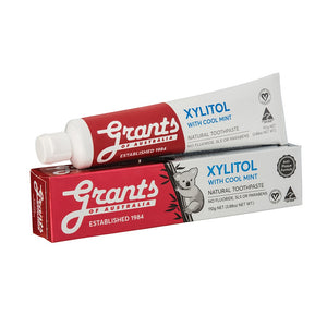 Grants Toothpaste - 110g Xylitol Mint