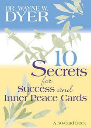 10 Secrets for Success & Inner Peace Cards ~ Dr Wayne W Dyer