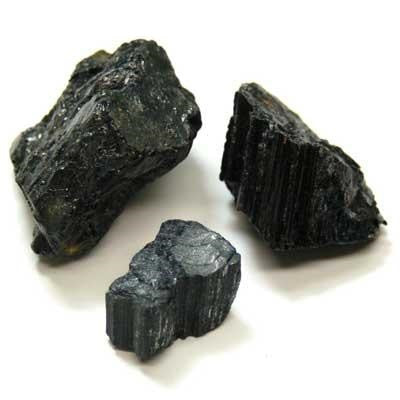 Black Tourmaline raw chunk small