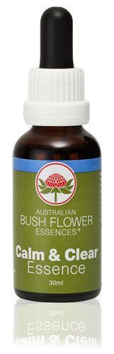 Calm & Clear Australian Bush Flower Essence 30ml drops