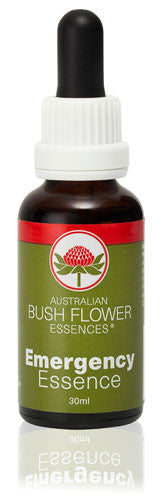 Emergency Australian Bush Flower Essence Drops - 30ml