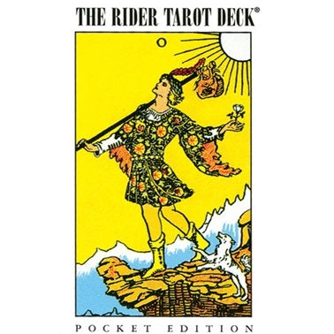Rider Waite Tarot Pocket Deck ~ Arthur Waite
