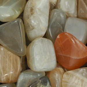 Moonstone, Earthtone ~ Tumbled stone (each)