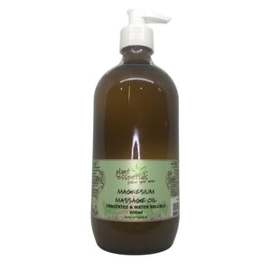 Magnesium Massage Oil, Water Dispersible (Water Soluble) unscented