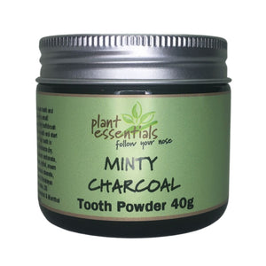 Minty Charcoal Tooth Powder 40g
