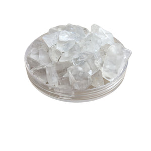 Quartz Chips, Clear