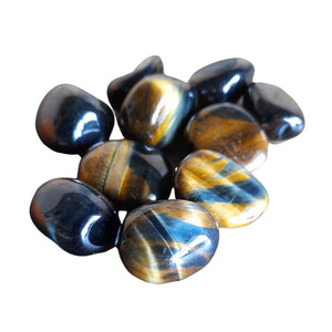 Tiger's eye, Multi ~ Tumbled stone