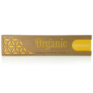 Organic Goodness Sandalwood Incense sticks 15g