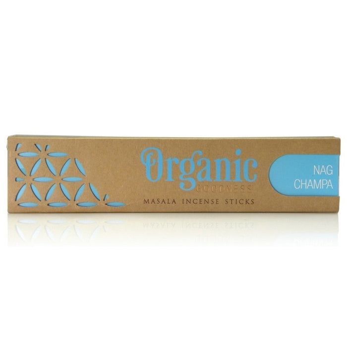 Organic Goodness Nag Champa Incense sticks 15g