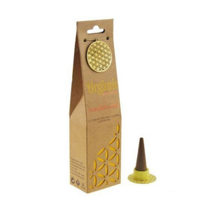 Organic Goodness Sandalwood Incense Cones
