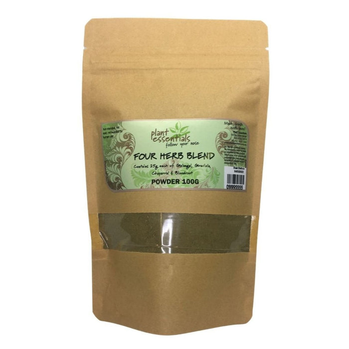 Four Herb Blend - Graviola, Galangal, Bloodroot & Chaparral Powder