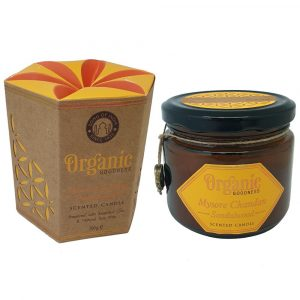 Organic Goodness Soy Wax Candle ~ Sandalwood