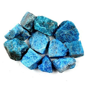 Apatite, Blue ~ Raw stone (each)