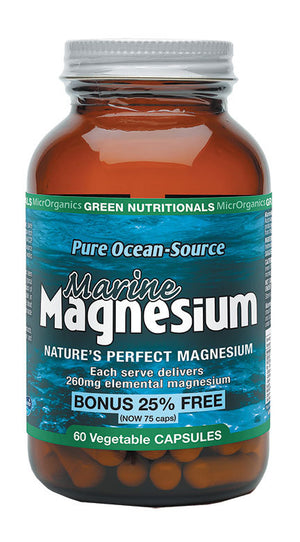 Green Nutritionals Marine Magnesium  (260mg)