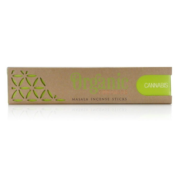 Organic Goodness Cannabis Incense sticks 15g