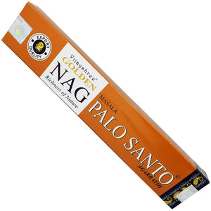 Golden Nag Palo Santo Incense sticks 15g