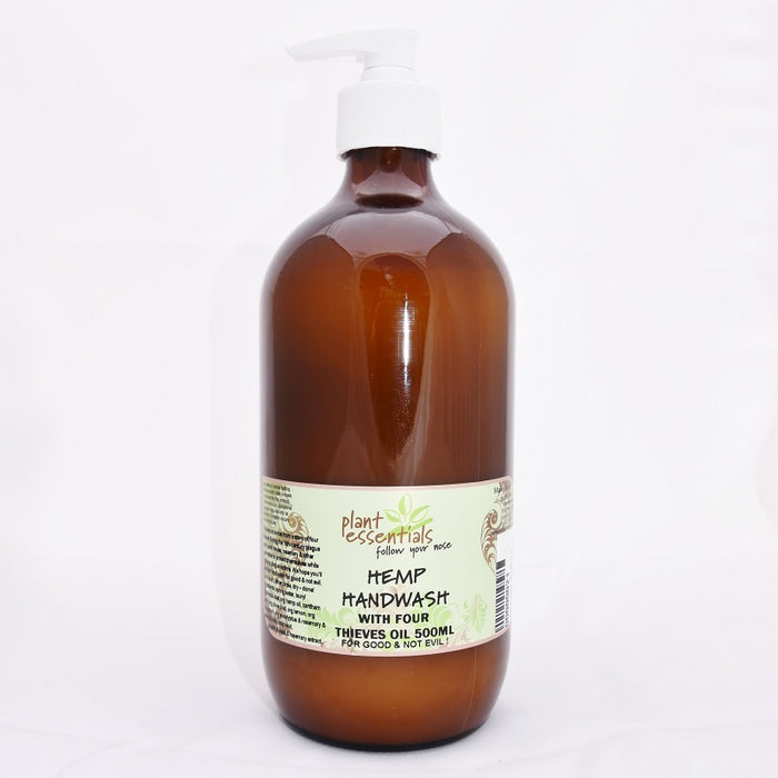 Hemp hand wash with four thieves oil