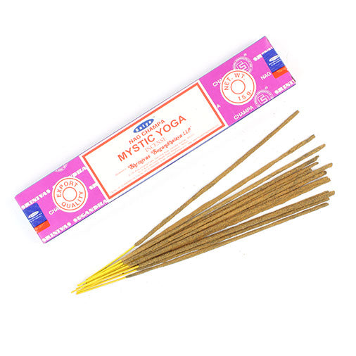 Satya Nag Champa Incense sticks 15g - Mystic Yoga