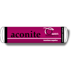 Aconite 6c Owen Homeopathic Remedy