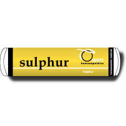 Sulphur 6c Owen Homeopathic Remedy