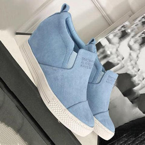 Slip On Wedge Sneaker