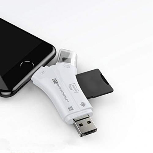 4-in-1 SD Memory Card Reader