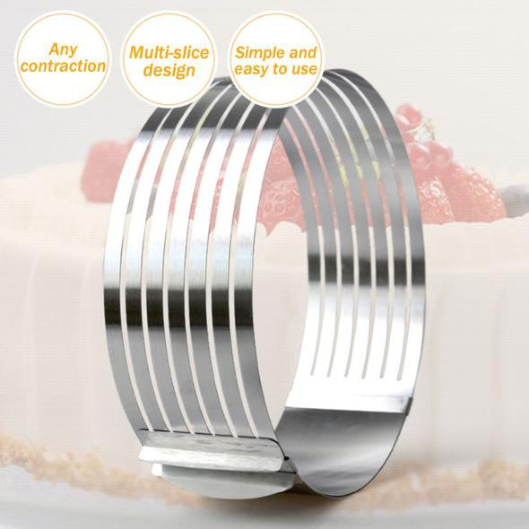 Adjustable Stainless Steel Cake Slicer