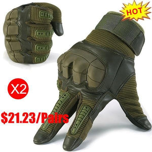 Full Finger Touch Screen Tactical Military Gloves