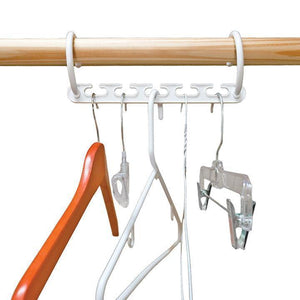 Magic Hangers Closet Space Saving (Plastic and Metal)