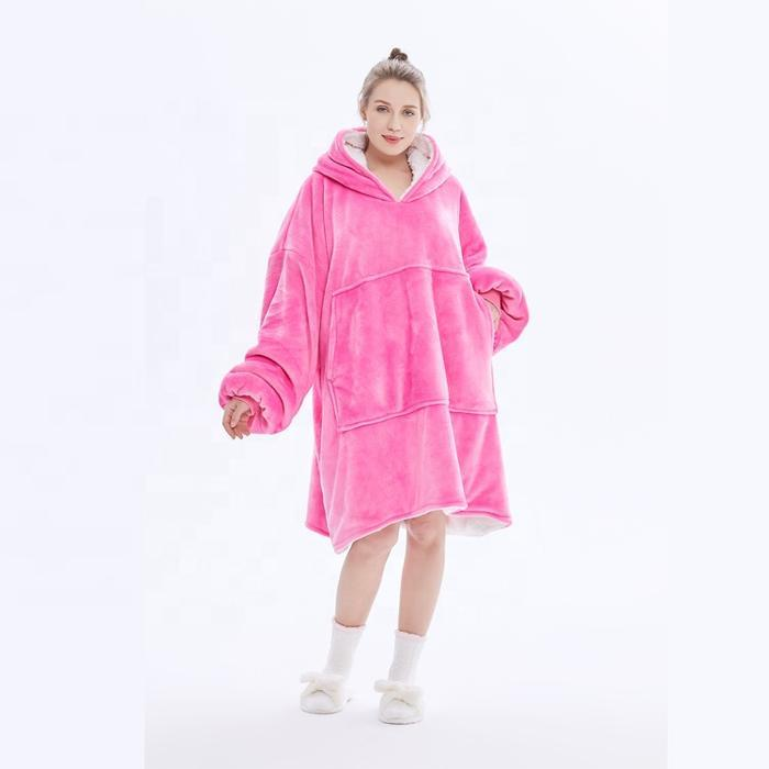 The Cozy The Oversized Sherpa Blanket Sweatshirt