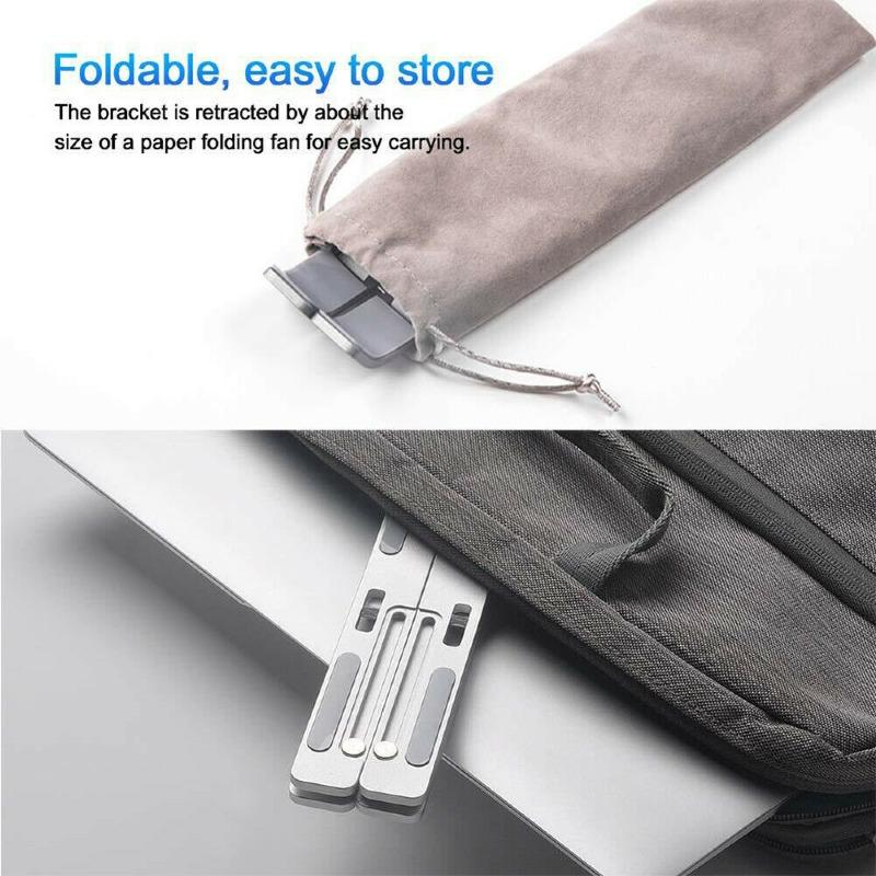 Foldable Aluminum Alloy Tablet Bracket