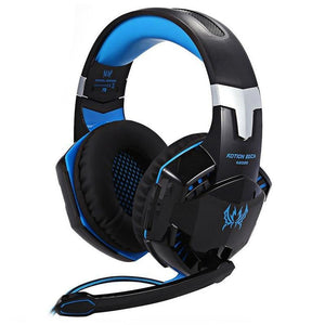 LED Gaming Headset and Mouse (with Mouse Pad)