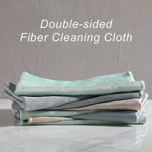 Double-sided Fiber Cleaning Cloth