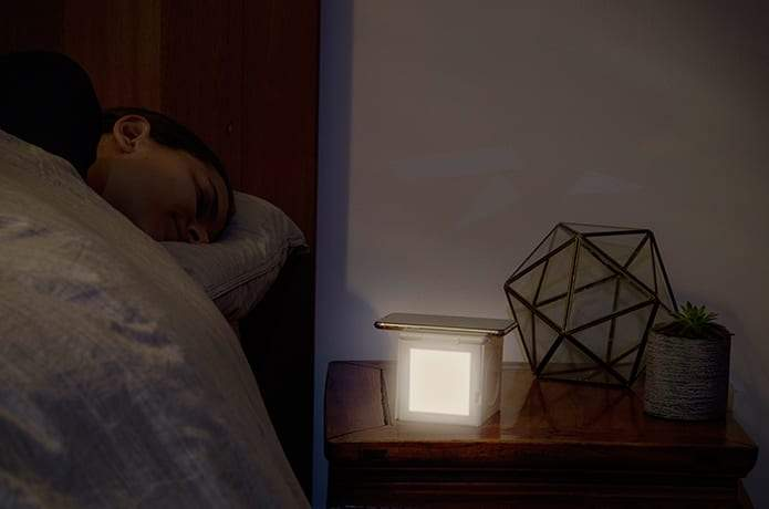 HyperCube: Wireless Charging Station & Sleep Aid