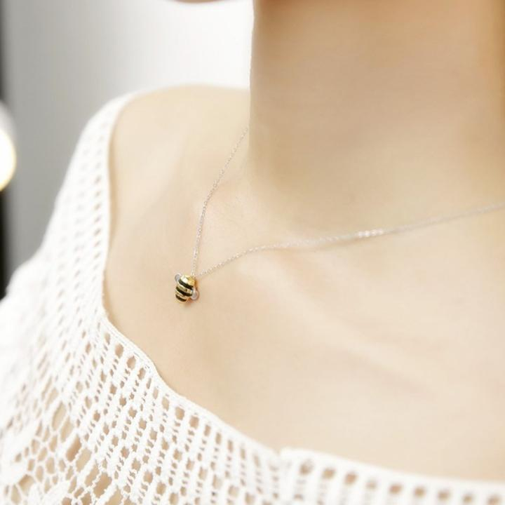 Cute Exquisite Bee Necklace