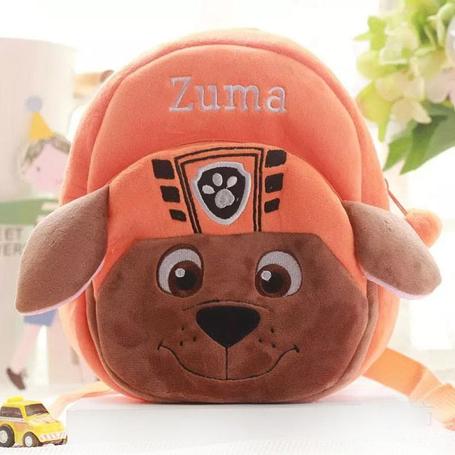 Puppy Patrollers Plush Backpack