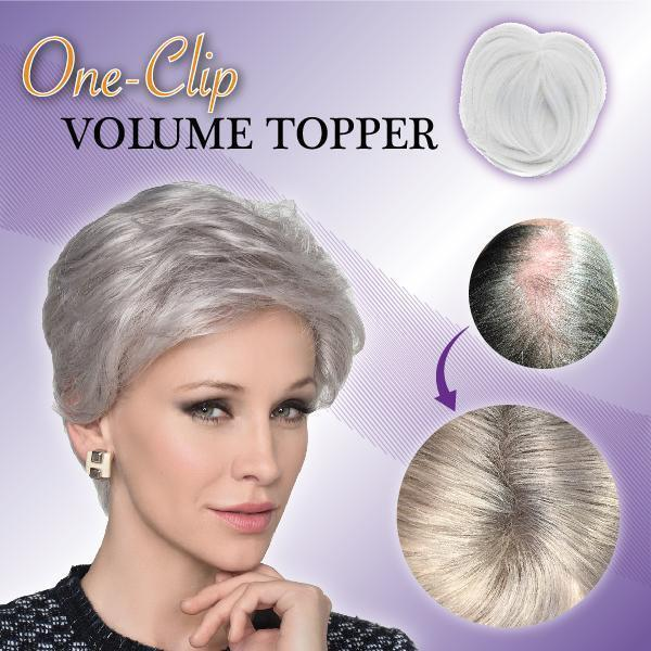 One-Clip Volume Topper