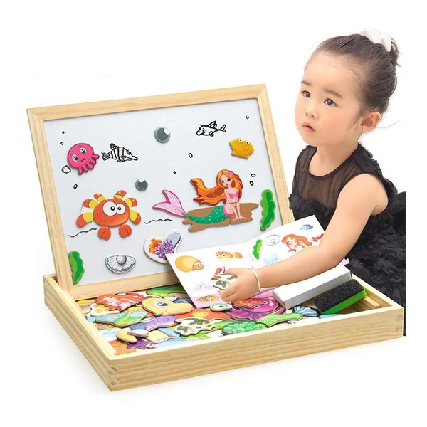 Magnetic Jigsaw Puzzle Toddler Toys