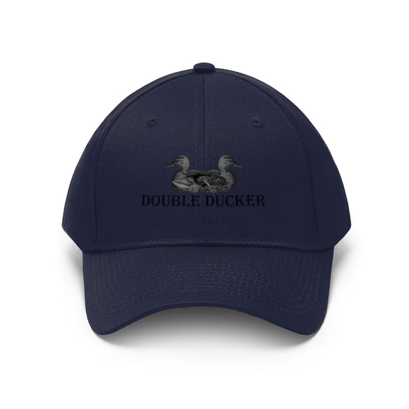 Unisex Twill Hat / Double Ducker - crazy-tee-designs