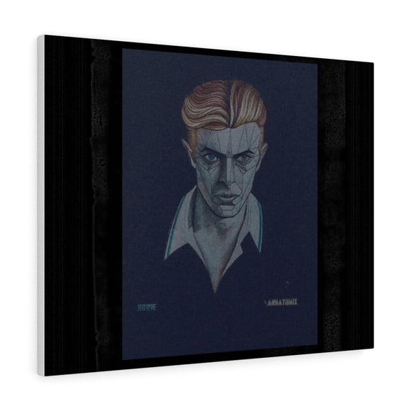 Canvas Gallery Wraps / Bowie wall art - crazy-tee-designs