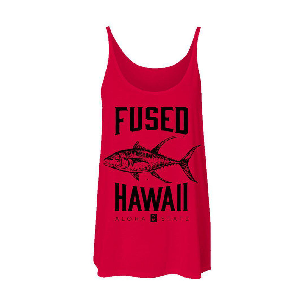 Ahi - Off the hook Flowy Tank - FUSED HAWAII